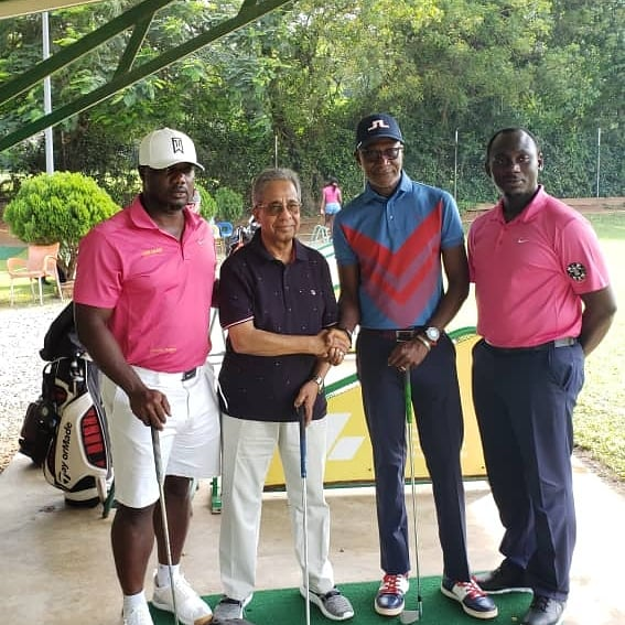 Tang Palace supports Achimota Golf Club